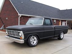 69 F100, I just love these old Ford trucks !