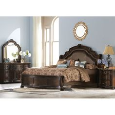 Found it at Wayfair - Le Grande Old World Upholstered Headboard