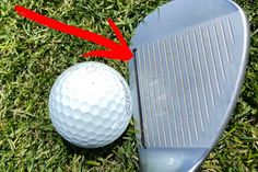 This wedge trick will help you hit crispier chip shots (and it's 100% legal) Golf Chipping Tips, Crispy Chips, Golf Instruction, Perfect Golf, Golf Training, Golf Lessons, Golf Humor, Golf Tips, Golf Ball