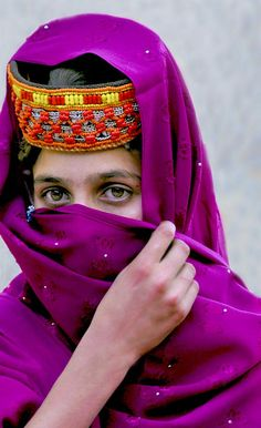 Kalashi Girl Birir Valley Chitral Pakistan