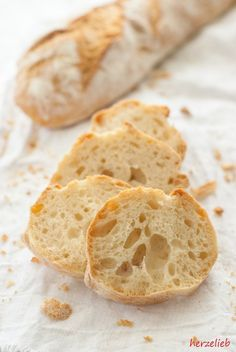 Recipe for the magic baguette - likes für brot & brötchen No Carb Bread, Kenwood Cooking, Bread Recipes, Cooking Recipes, World Recipes, Fabulous Foods, Foodie Travel, Bread Baking, Food Inspiration