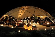 Santa Barbara Magazine partners with Gypset Event's for a memorable soiree. Igloo House, Tiny House Village, Bamboo Structure, Tent Design, Santa Barbara, Luxury Tents, Festival Camping, Dome Tent, Arquitetura