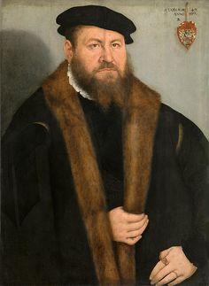 Portrait Of A Man  Lucas Cranach the Younger