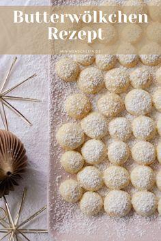 Die besten Plätzchen aller Zeiten: Butterwölkchen Flower Art Images, Most Beautiful Flowers, Flower Aesthetic, Cookie Desserts, Donuts, Bakery, Food Porn, Food And Drink, Cooking Recipes