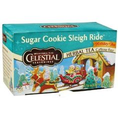 how to make sugar cookie sleigh ride tea