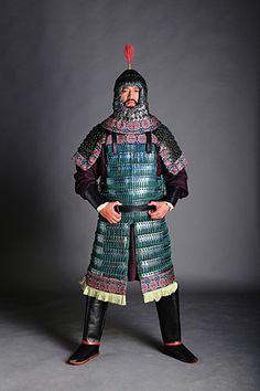 Lamellar Armor, Sca Armor, Armor All, Mongolia, Dynasty Clothing, Chinese Armor, Pauldron, Asian History, Ancient China