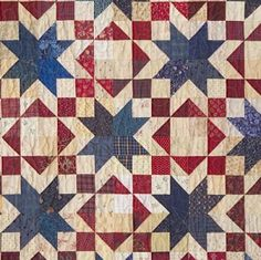 This is a fun Patriotic quilt!