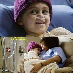That little girl was so cute