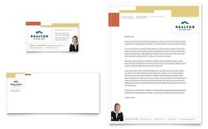 Auto detailing business card and letterhead design template by realtor and real estate agency business card and letterhead spiritdancerdesigns Images
