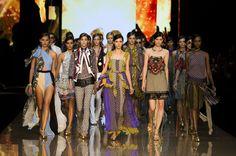 Défilé Just Cavalli, prêt-à-porter printemps-été 2015, Milan. #MFW #Fashionweek #runway