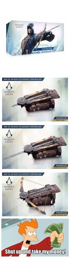 Assassin's creed unity (phantom blade)