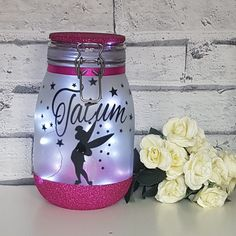 Another personalised fairy jar and another very happy little girl 😊