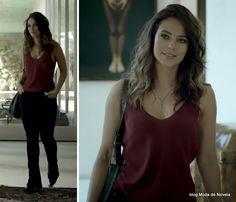 moda da série Felizes Paraq Sempre? - look da Denise