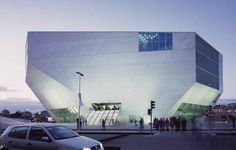 Casa da Musica, Oporto Concert Hall Building - design by Office for Metropolitan Architecture (OMA) - Casa da Musica Porto, Portugal building by OMA Rem Koolhaas, Oma Architecture, Amazing Architecture, Creative Architecture, Museum Of Contemporary Art, Contemporary Architecture, Classical Architecture, Interesting Buildings, Famous Architects