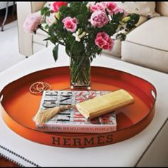 Hermes tray...I will track one of these down and own one! Must have!
