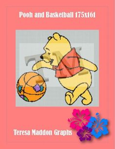 Name: 'Crocheting : Pooh and Basketball Handmade Crafts, Winnie The Pooh, Crocheting, Blankets, Cartoons, Quilting, Cross Stitch, Basketball, Crochet