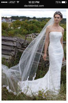 David's Bridal - Dress 1, Front