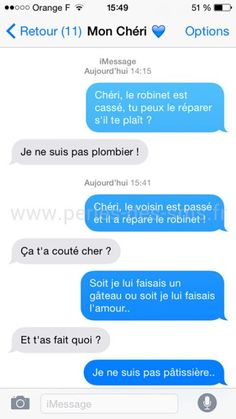 Top 30 des textos les plus délirants du moment (page Happy Birthday Quotes For Her, Birthday Message For Him, Happy Birthday Funny, Birthday Messages, Messages For Him, Funny Text Messages, Funny Facts, Funny Jokes, Hilarious