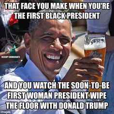 A roundup of must-see memes lampooning Donald Trump, Hillary Clinton, and the failed presidential candidates.: Obama's Debate Reaction