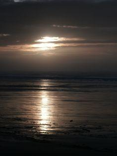 Sunset Reflection, Bandon Beach Oregon  *dansuehath