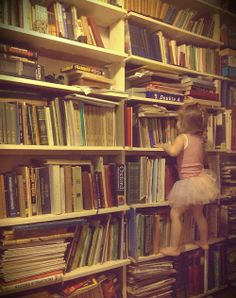 Tutu on the bookshelves. 19.12.2013 / Sarajevo