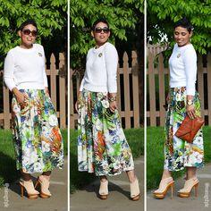 #DIY Gauchos + Pattern Review M7131 - Mimi G Style