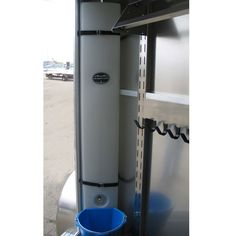 This 39-gallon water caddy is a unique accessory to have on the road. If you need to haul water, jugs can take up an inordinate amount of room. The corner of your tack room is often wasted space anyway, so utilize a product like this to solve both problems.