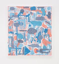 "eccontemporary: "" Russell Tyler, WBTPG, 2016, oil on canvas, 152,4 x 137,2 cm www.russellmtyler.tumblr.com www.theholenyc.com """