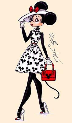 Minnie Mouse Art Hayden Williams
