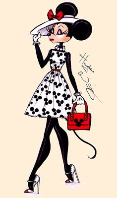Minnie Mouse-Art-Hayden Williams