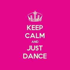 Keep calm an dance on