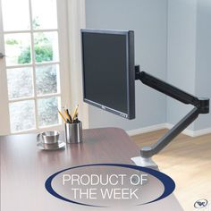 With the Extended Reach Monitor Arm, you can effortlessly adjust your monitor for ergonomic comfort, increased desk space, and reduced eye strain.