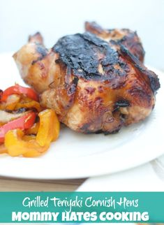 #ad Recipe - Grilled Teriyaki Cornish Hens #Grill4Flavor #cbias