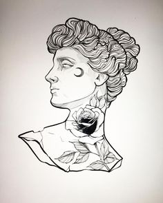 Statues Of Liberty Graphic - Statues Grecque Illustration - - - - Tattoo Sketches, Tattoo Drawings, Drawing Sketches, Body Art Tattoos, Sleeve Tattoos, Art Drawings, Funny Drawings, Statue Tattoo, Desenho Tattoo