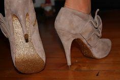Glitter Heels.