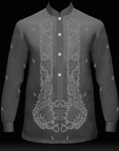 MyBarong : Men's Barong Tagalog Design it. Watch your Custom Tailor Barong come to life as you click & selec. Barong Wedding, Filipiniana Wedding Theme, Modern Filipiniana Dress, Wedding Tux, Wedding Prep, Groomsmen Fashion, Groom And Groomsmen Attire, Barong Tagalog, Filipino Wedding