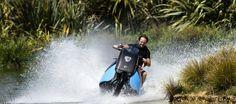 Gibbs Amphibians ha desarrollado el prototipo Biski, un concepto híbrido entre una moto convencional y una de agua de los más acertada.…
