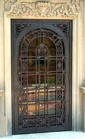 wrought iron doors designs potterartmetal