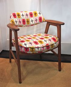 Wooden Chair Reupholstering