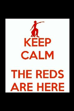 The reds are here