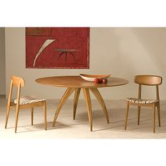 The mid-century inspired Ella dining room - American made & simply beautiful!