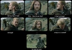 lord of the rings funny aragorn and legolas | Legolas and Aragorn - Aragorn and Legolas Fan Art (7668500) - Fanpop ...