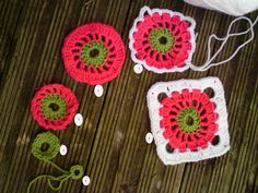 Circle in a Square - tutorial | I am doing a baby blanket, f… | Flickr