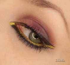 JaŚniutka   makijaż, recenzje : Makijaż z odbrobiną żółci:)
