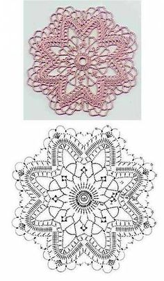 Captivating All About Crochet Ideas. Awe Inspiring All About Crochet Ideas. Crochet Snowflake Pattern, Crochet Motif Patterns, Crochet Stars, Crochet Snowflakes, Crochet Diagram, Thread Crochet, Crochet Doilies, Crochet Flowers, Crochet Stitches