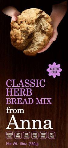 Gluten Free Classic Herb Bread