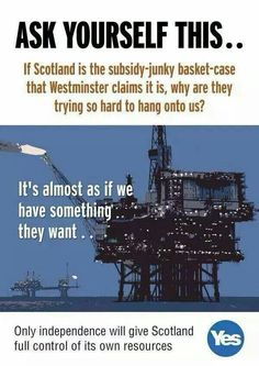 Exactly  IndyRef - Vote Yes!
