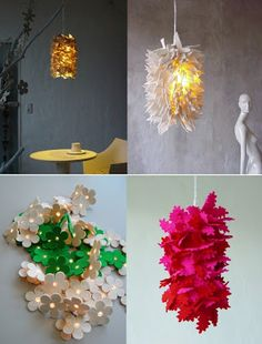 felt and lasercut lamps?