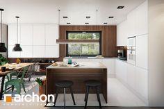 Dom w aroniach 2 Ikea New Kitchen, Pergola, Table, Warsaw, Furniture, Design, Home Decor, Decoration Home, Room Decor
