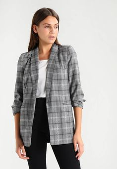 Miss Selfridge CHECK - Blazer - multi bright for with free delivery at Zalando Checked Blazer, Fabric Material, Chic, Miss Selfridge, My Style, Model, Sweaters, How To Wear, Jackets